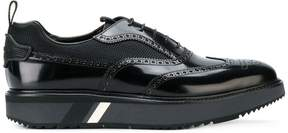 Prada exaggerated sole brogues