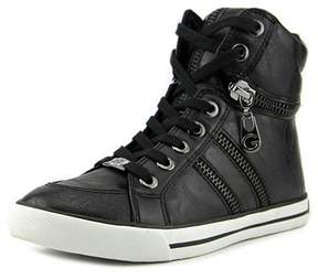 G by Guess Womens Orizze Hight Top Lace Up Fashion Sneaker.