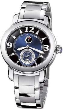 Ulysse Nardin Macho Palladium Blue Dial Automatic Men's Watch 278-70-8-632