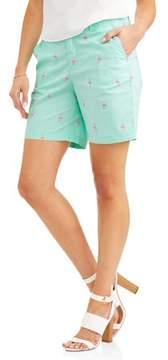 Caribbean Joe 7 Printed Shorts