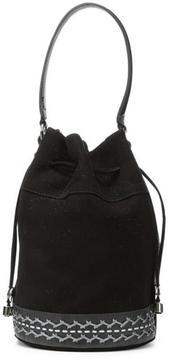 Women's DORINDA2 - Kid Suede Bucket Bag