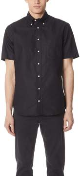 Gitman Brothers Short Sleeve Overdye Oxford Shirt