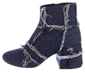 MM6 MAISON MARGIELA MM6 by Maison Martin Margiela Denim Ankle Boots