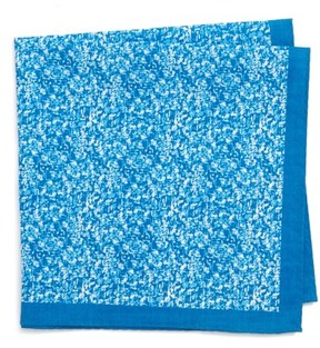 Nordstrom Men's Panso Print Cotton Pocket Square