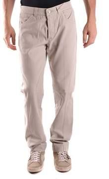 La Martina Men's Grey Cotton Jeans.