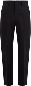 Lemaire Mid-rise slim-leg wool trousers