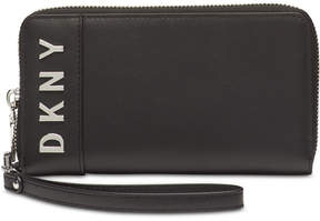 DKNY Bedford Logo Wristlet