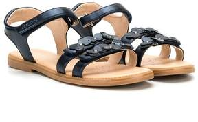 Geox floral applique sandals