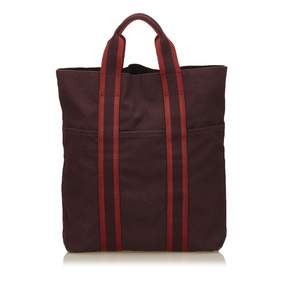 Hermes Toto cloth tote - RED - STYLE