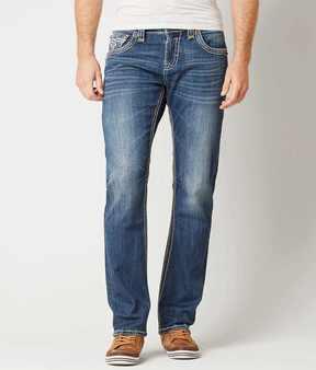 Rock Revival Echter Straight Stretch Jean
