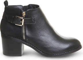 Office Academy double-zip ankle boots