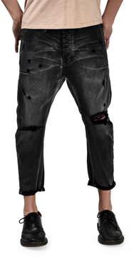 One Teaspoon Mr. Brown Distressed Jeans, Black Van