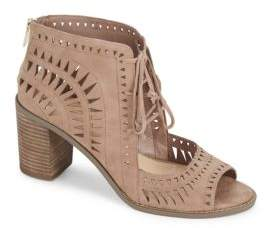 Vince Camuto Tarita Block-Heel Leather Sandals