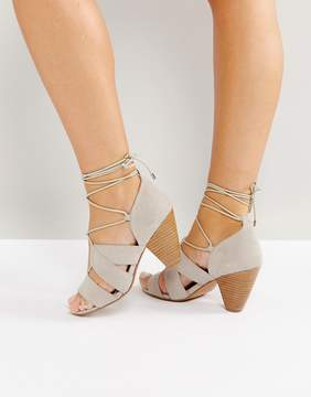 Asos TALI Lace Up Heeled Sandals
