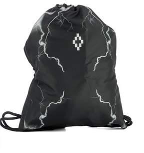 Marcelo Burlon County of Milan Men's Black Fabric Backpack.