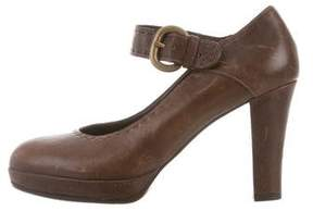 Henry Beguelin Mary Jane Leather Pumps