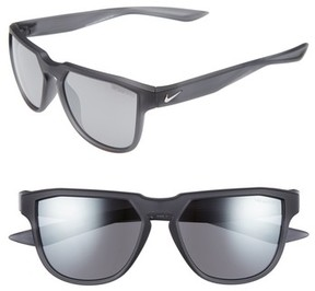 Nike Men's Fly Swift 57Mm Sunglasses - Matte Anthracite/ Gunmetal