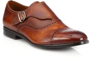 Bally Men's Lanor Perforated Monk-Strap Dress Shoes