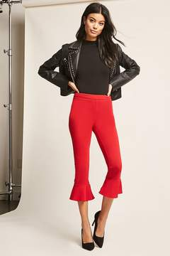 Forever 21 Cropped Flare Pants
