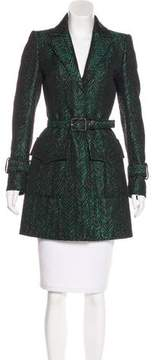 Andrew Gn Jacquard Short Coat