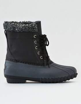 American Eagle Outfitters AE Sherpa Cuff Duck Boot