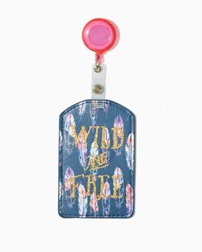 Charming charlie Wild & Free Badge Holder