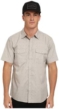 Brixton Wayne Short Sleeve Woven Men's Short Sleeve Button Up