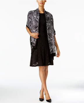 INC International Concepts Intricate Lace Wrap & Scarf in One, Created for Macy's