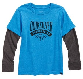 Quiksilver Toddler Boy's Sunset Co. Graphic T-Shirt