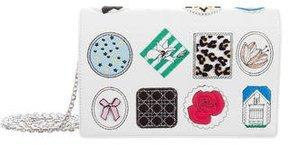 Christian Dior Diorama Badge-Embellished Shoulder Bag