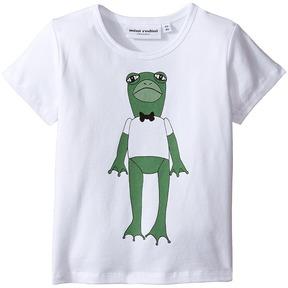 Mini Rodini Frog Short Sleeve Tee (Infant/Toddler/Little Kids/Big Kids)