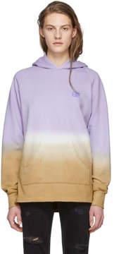 Baja East Purple Tie-Dye Hoodie