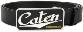 DSQUARED2 Caten buckle belt