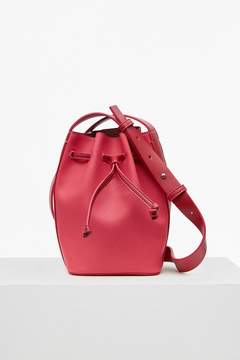 French Connection Saffiano Chelsea Mini Bucket Bag
