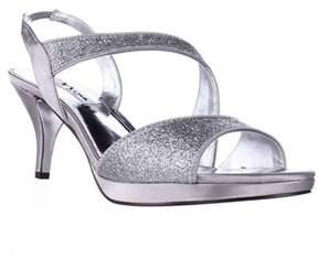 Nina Newark Sparkle Slingback Dress Sandals, Silver.