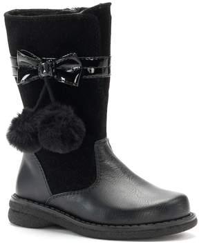 Rachel Marjorie Toddler Girls' Pom-Pom Boots