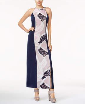 Bar III Printed Maxi Dress, Created for Macy's
