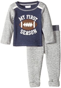 Mud Pie My First Football Pants Set Boy's Active Sets