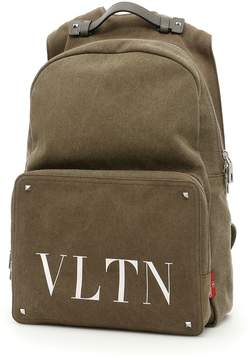Valentino Logo Backpack