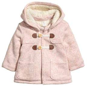 H&M Pile-lined Duffle Coat
