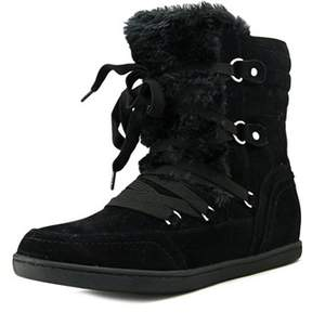 G by Guess Ryla Women Round Toe Canvas Black Winter Boot.