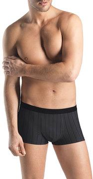 Hanro Shadow Stripes Boxer Briefs, Gray