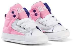 Converse Pink Chuck Taylor All Star First Star High Street Hi Tops