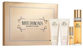 White Diamonds by Elizabeth Taylor Women's Fragrance Gift Set - 4pc