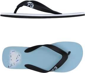 Y-3 Toe strap sandals
