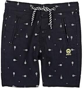Ikks Racquet-Print Stretch-Cotton Shorts