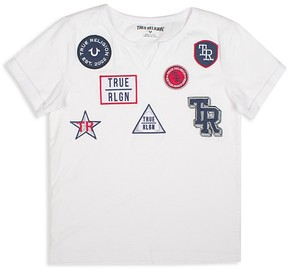 True Religion Boys' Embroidered-Patches Tee - Little Kid