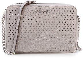 MICHAEL Michael Kors Large East/West Cross-Body Bag - PEARL GREY - STYLE