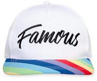 Disney Rainbow Unicorn ''Famous'' Baseball Cap for Adults - Inside Out