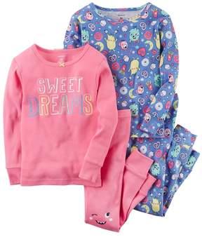 Carter's Toddler Girl Sweet Dreams Tees & Pants Pajama Set